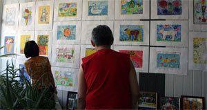 Солнечная выставка в Мэрии Якутска