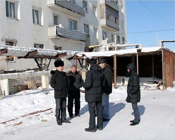 Айсен Николаев побывал на объектах ЖКХ