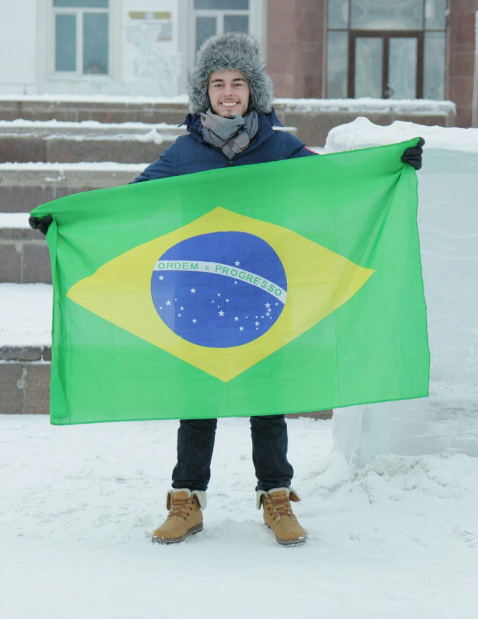 Учеба и каникулы школьника из Бразилии в Якутске