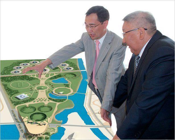 Президент и мэр всецело поддерживают проект «Олонхолэнд»