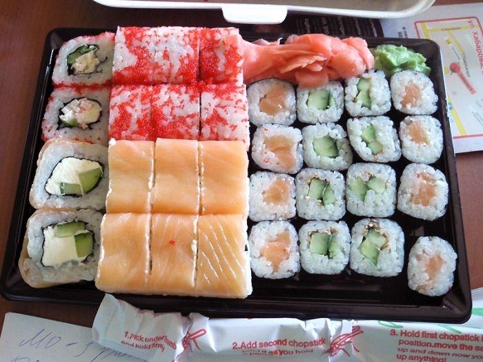 Заведение  по доставке суши и роллов в Якутске нарушило санитарные нормы