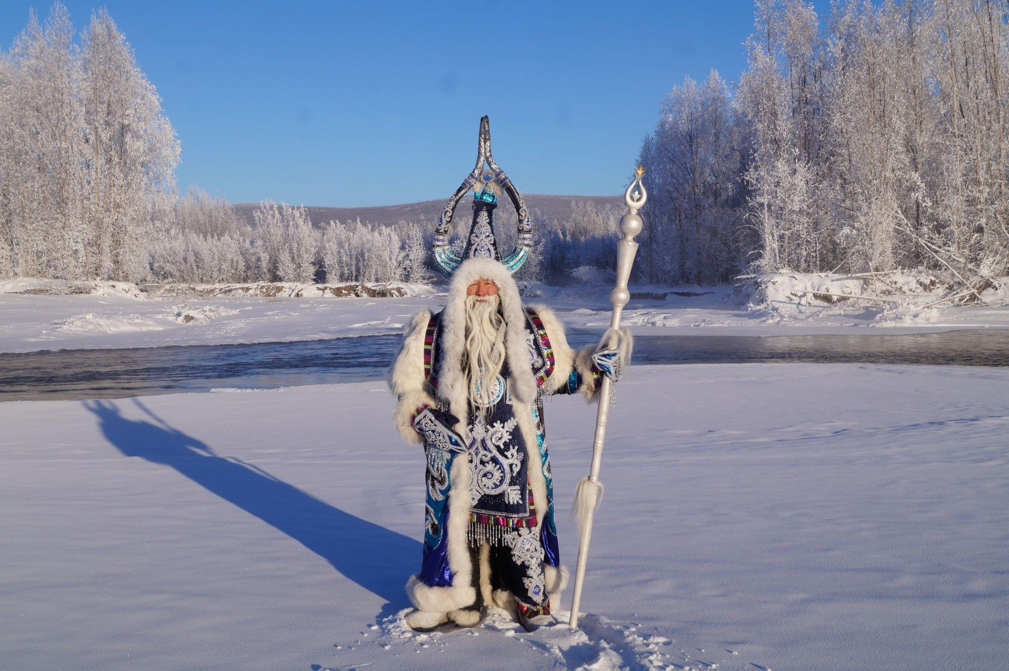 О жизни якутского Деда Мороза