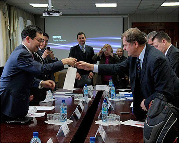 Айсен Николаев встретился с чешской делегацией