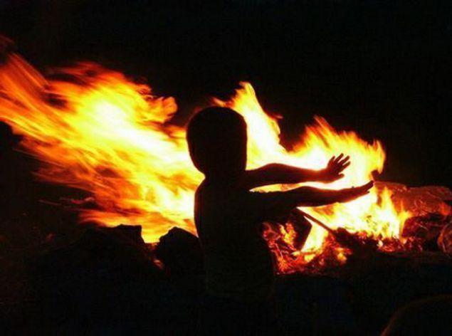 Огонь уносит жизнь детей