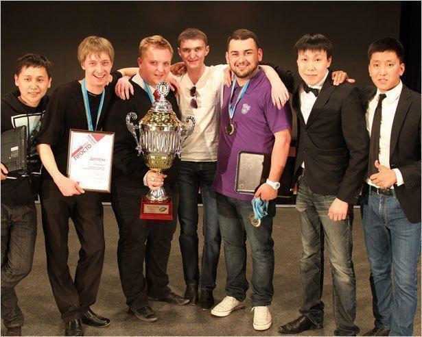 Финал студенческой лиги КВН: Шли по тихой, стали чемпионами!