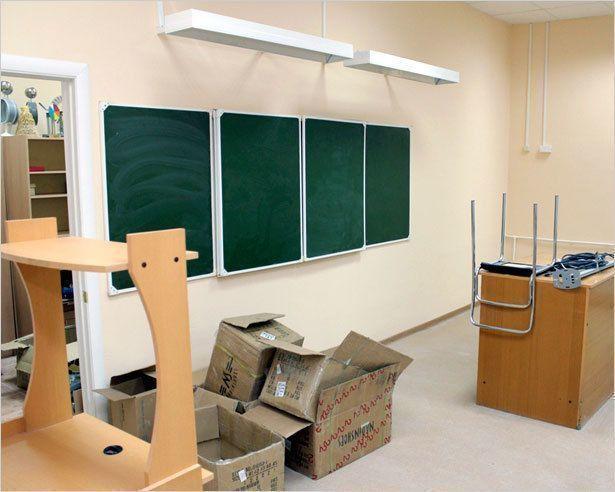 Капитальный ремонт школ близится к завершению