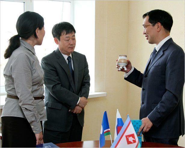 Айсен Николаев принял делегацию из Южной Кореи