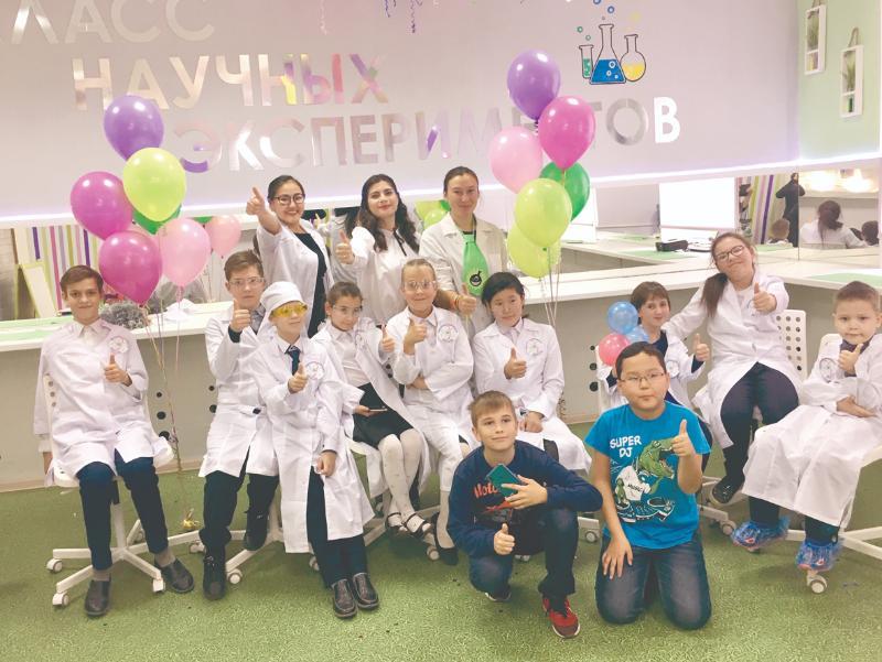 В Мархе открылся инклюзивный класс научных экспериментов