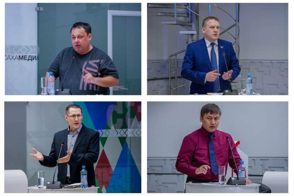 Дебаты «Сахамедиа»: на какие вопросы и как ответили кандидаты в мэры Якутска