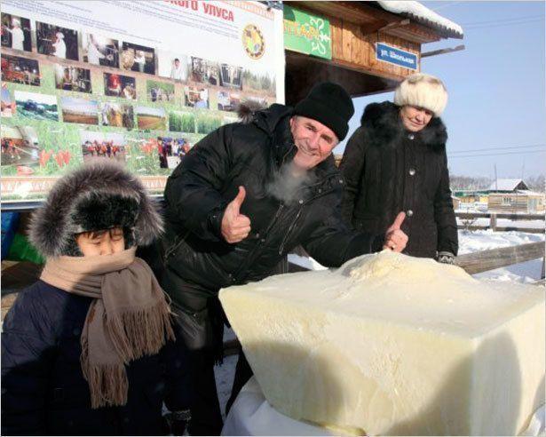 Мировой молочный рекорд