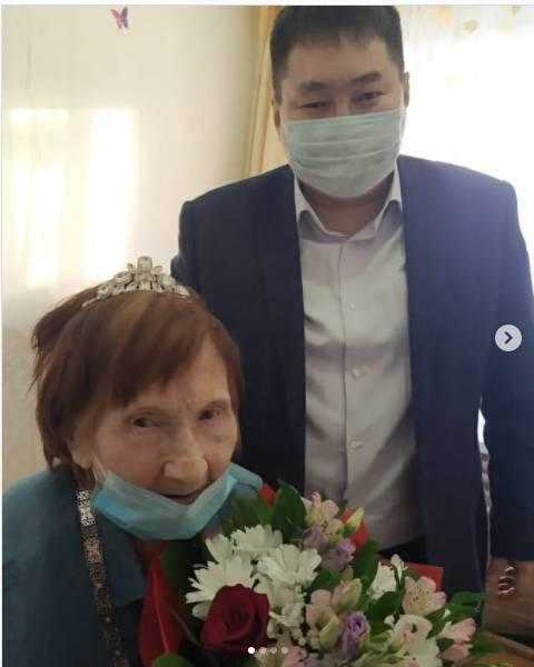 Жительница Якутска отметила 100-й день рождения