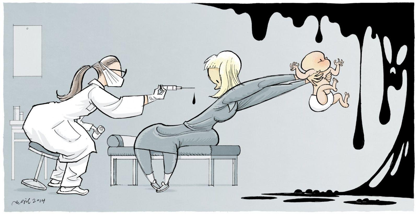 Государство будет бороться с противниками вакцинации