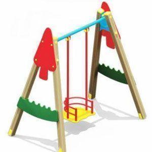 Открылась еще одна детская площадка