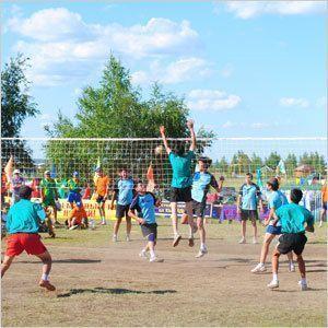 От волейбола к здоровью нации