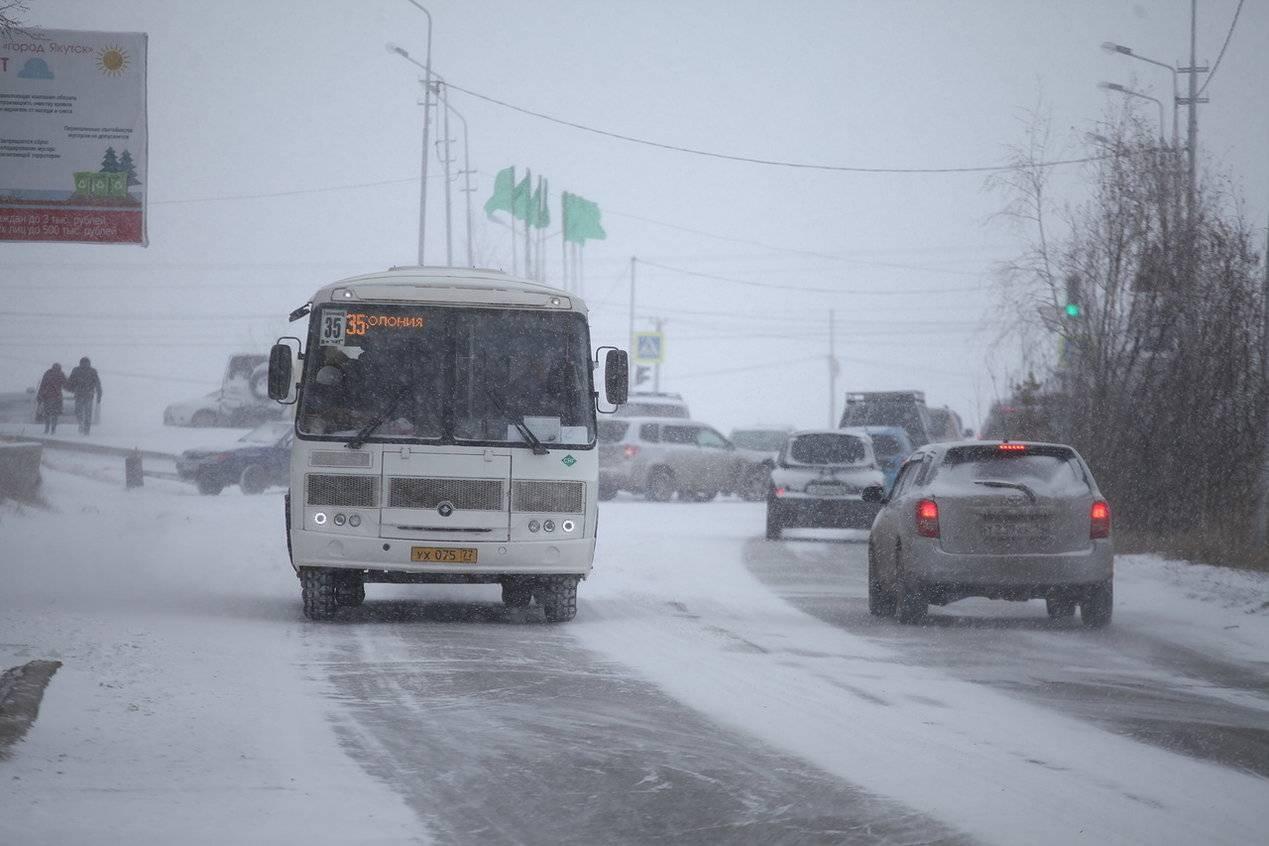Мэрия Якутска: установлен график движения автобусов в новогодние каникулы
