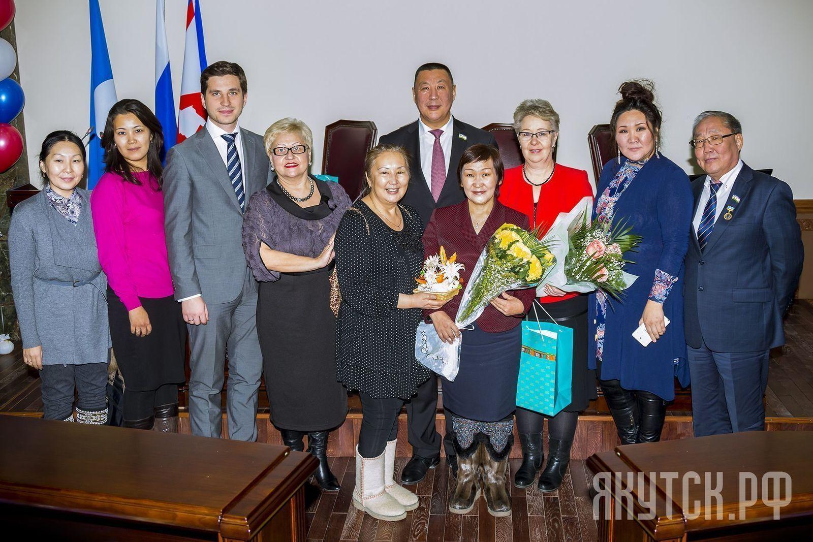 В городской администрации  поздравили матерей