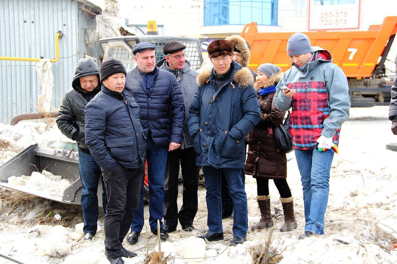 Объезд главы: Якутск готовится к весне