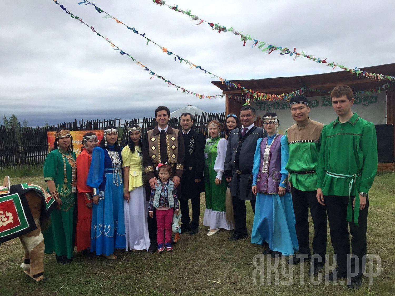Управление Центрального округа принимало гостей на Ысыахе Туймаады