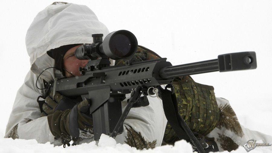 Убойный калибр, или Длинные руки снайпера