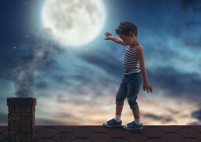Почему дети – лунатики?
