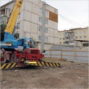 В Якутске возводят дом для спасателей