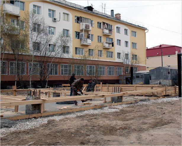 Что строят на Орджоникидзе, 39?