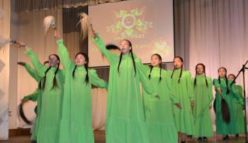45 лет первому народному ансамблю песни и танца «Сарыал»!