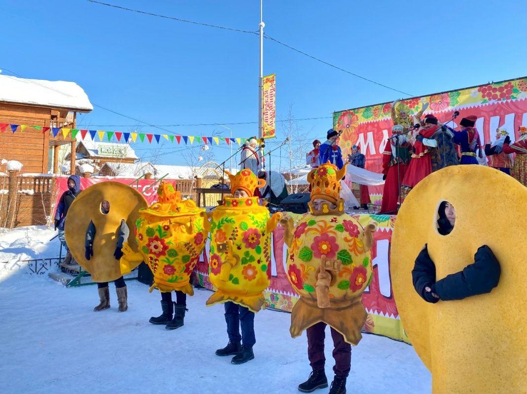 Якутск отпразднует Масленицу онлайн