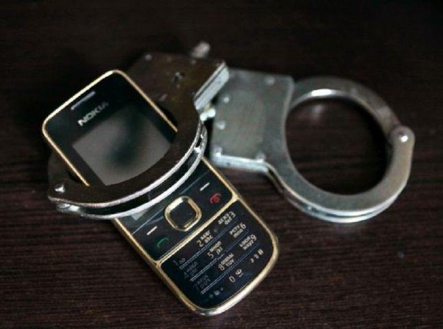 Любитель смартфонов задержан