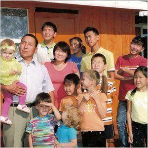 Летние хлопоты семьи Павловых