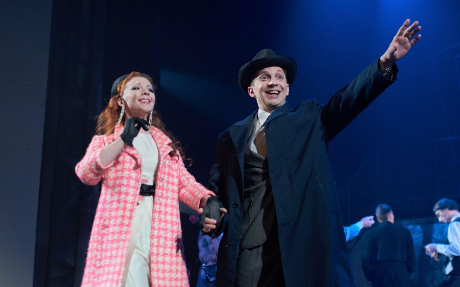 В Русском драмтеатре впервые поставили мюзикл