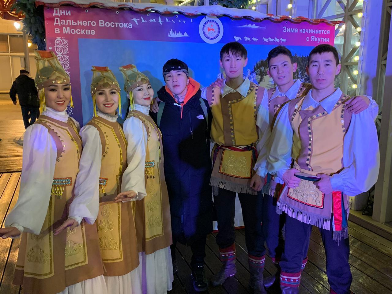 Культурная программа Якутии украсила Дни Дальнего Востока в Москве
