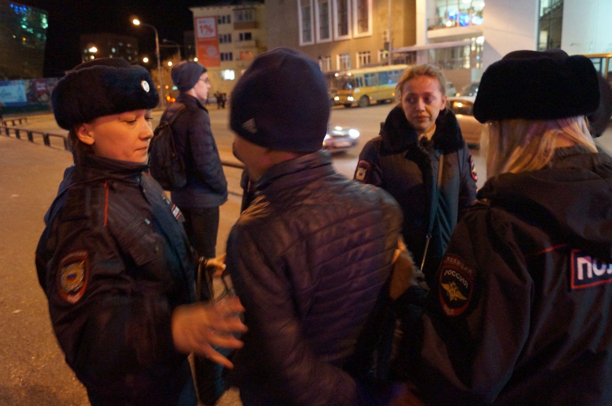 Подростки ночного Якутска
