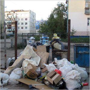 Кто в ответе за мусор?