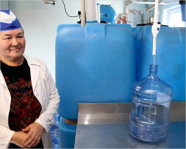 В Магане теперь самая чистая питьевая вода
