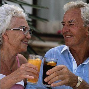 Строительный округ чествует пожилых