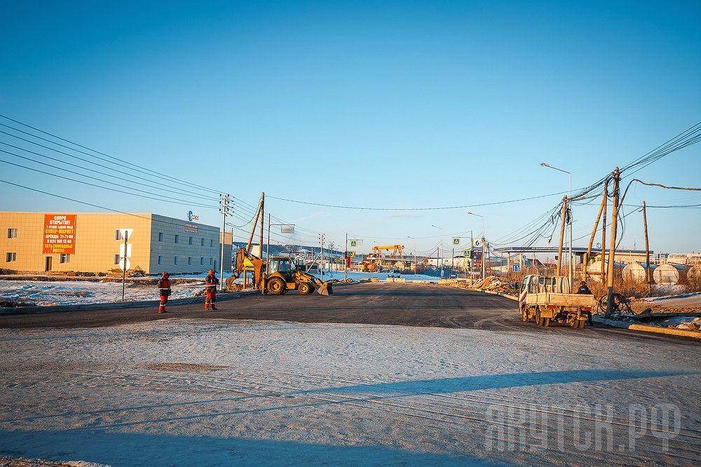 Окружное шоссе Якутска частично закроется на ремонт