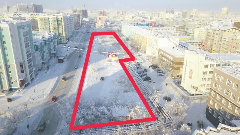 В Якутске проектируется новое общественное пространство