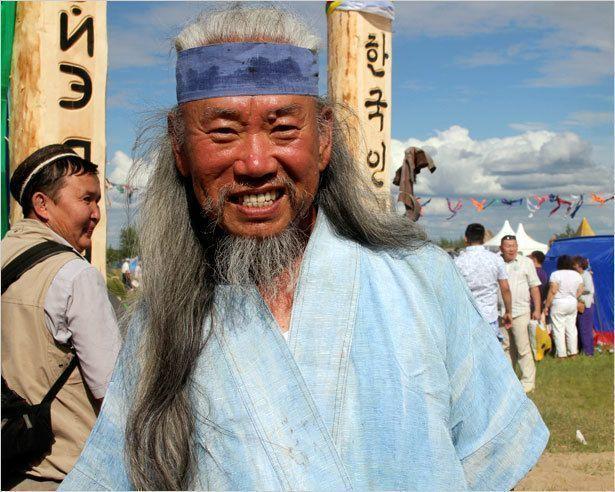 Корейские лики на Ысыахе Туймаады