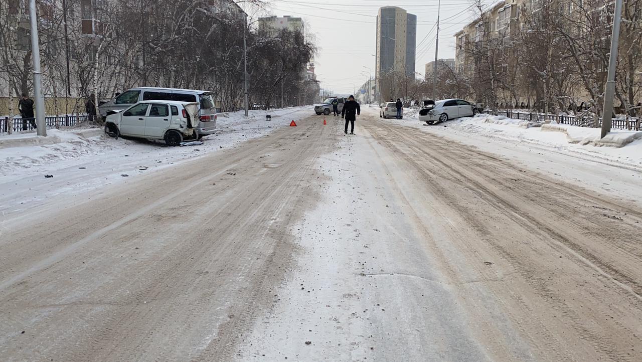 ГАИ назвала места концентрации ДТП в Якутске