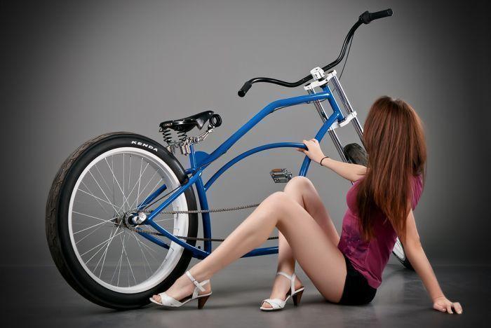 Велосипедная клептоманка