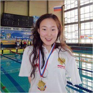 Три медали и два рекорда Диодоровой