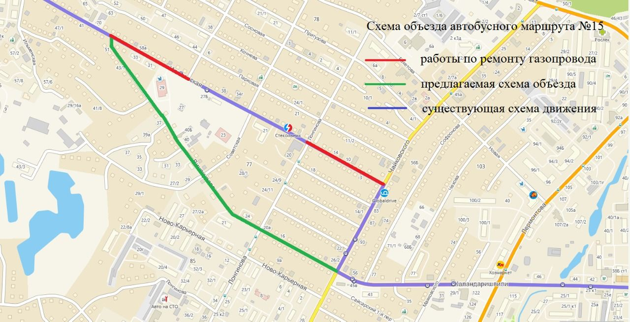 В Якутске изменится схема движения на трех маршрутах