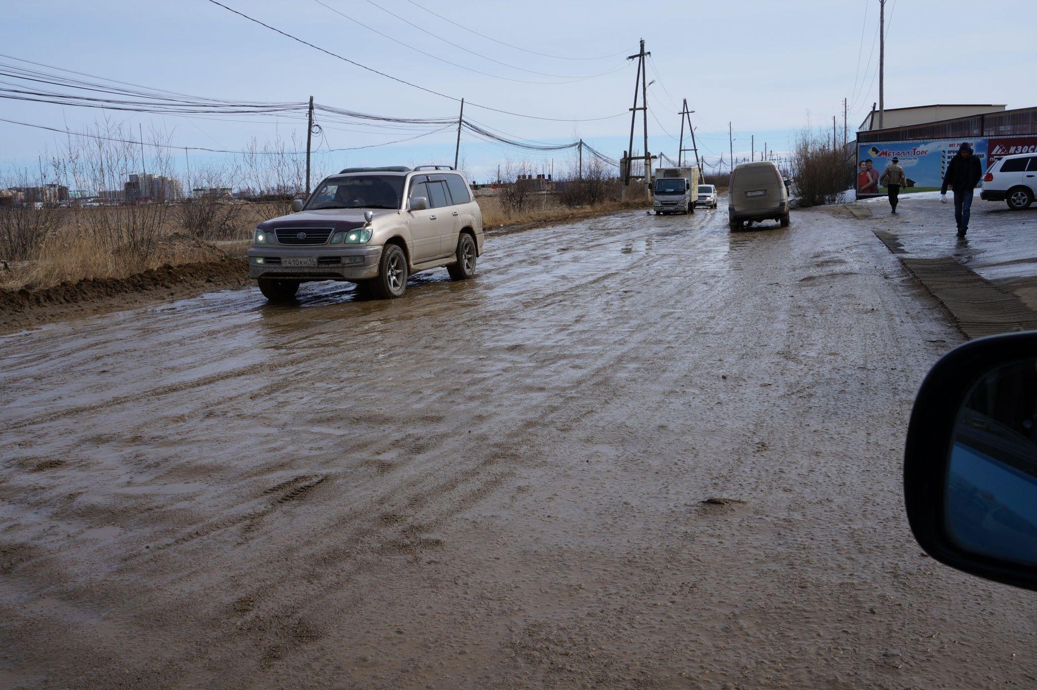 Якутск начинает ремонт дорог