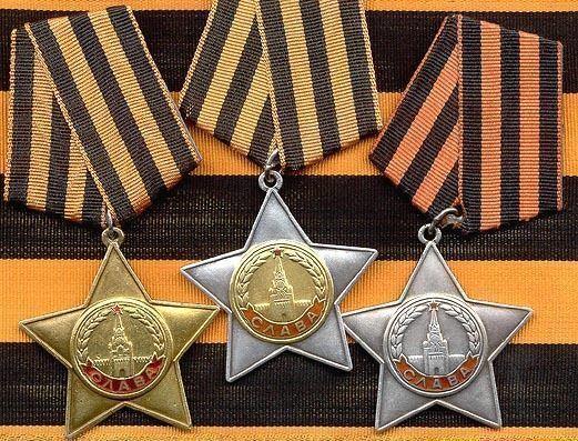 Прославленные кавалеры солдатского ордена