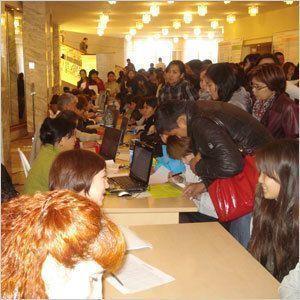 Ярмарку вакансий посетили 2000 человек