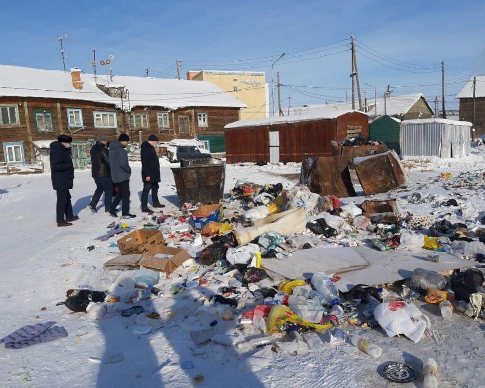 В Строительном округе Якутска пройдет генуборка