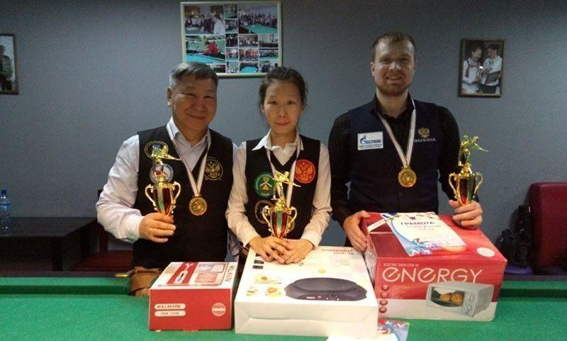 Состоялся Чемпионат города Якутска по бильярдному спорту