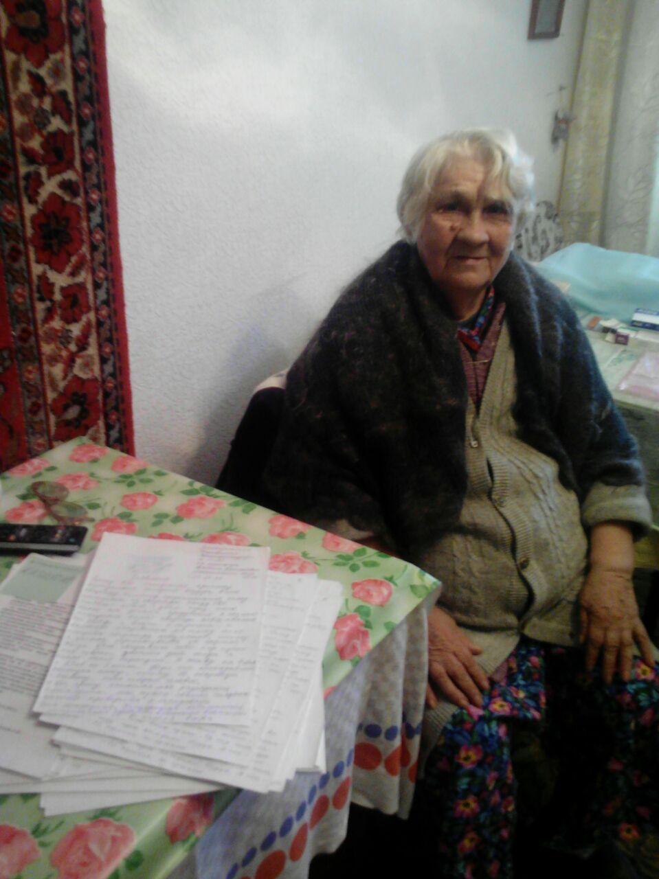 ХОЛОДное противостояние бабушки Альбины