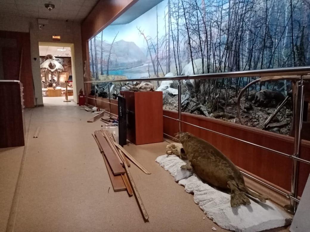 Музей имени Ярославского в Якутске закрывает часть экспозиций